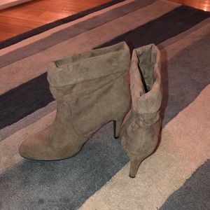 Express Slouchy Ankle Booties